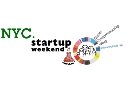 NYC Startup Weekend, celebrating Global Entrepreneurship Week